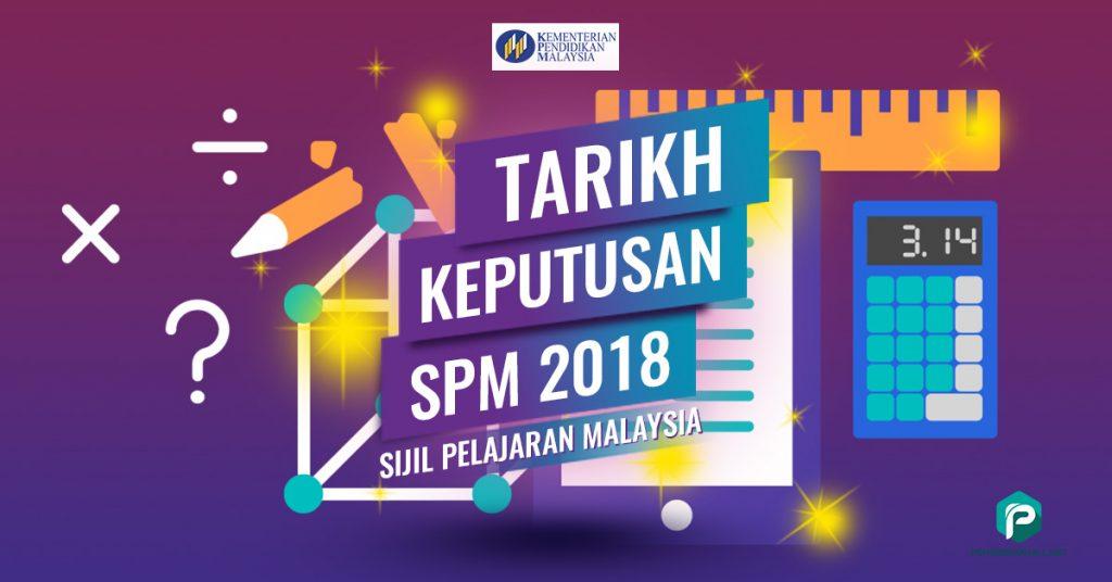 keputusan spm 2018 14 mac 2019