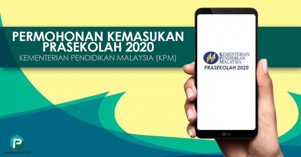 Permohonan Kemasukan Prasekolah 2020