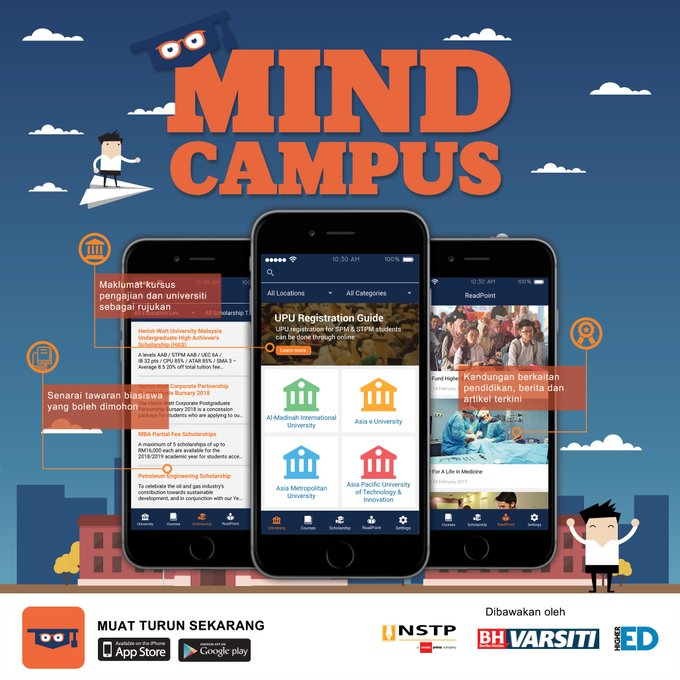 aplikasi mind campus