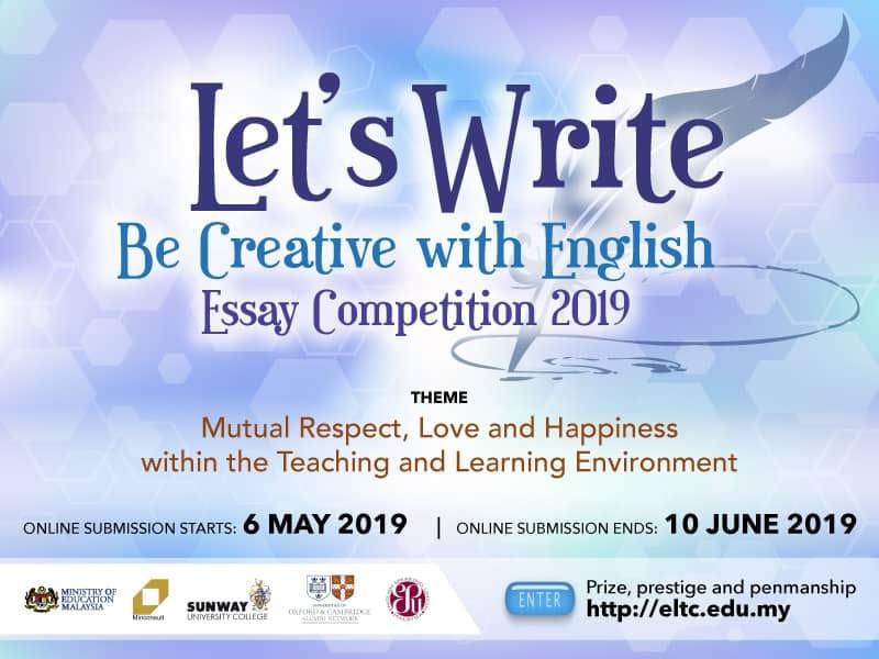 pertandingan menulis esei kpm 2019
