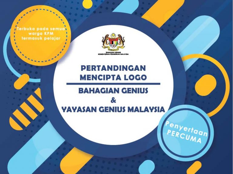 pertandingan cipta logo yayasan genius malaysia