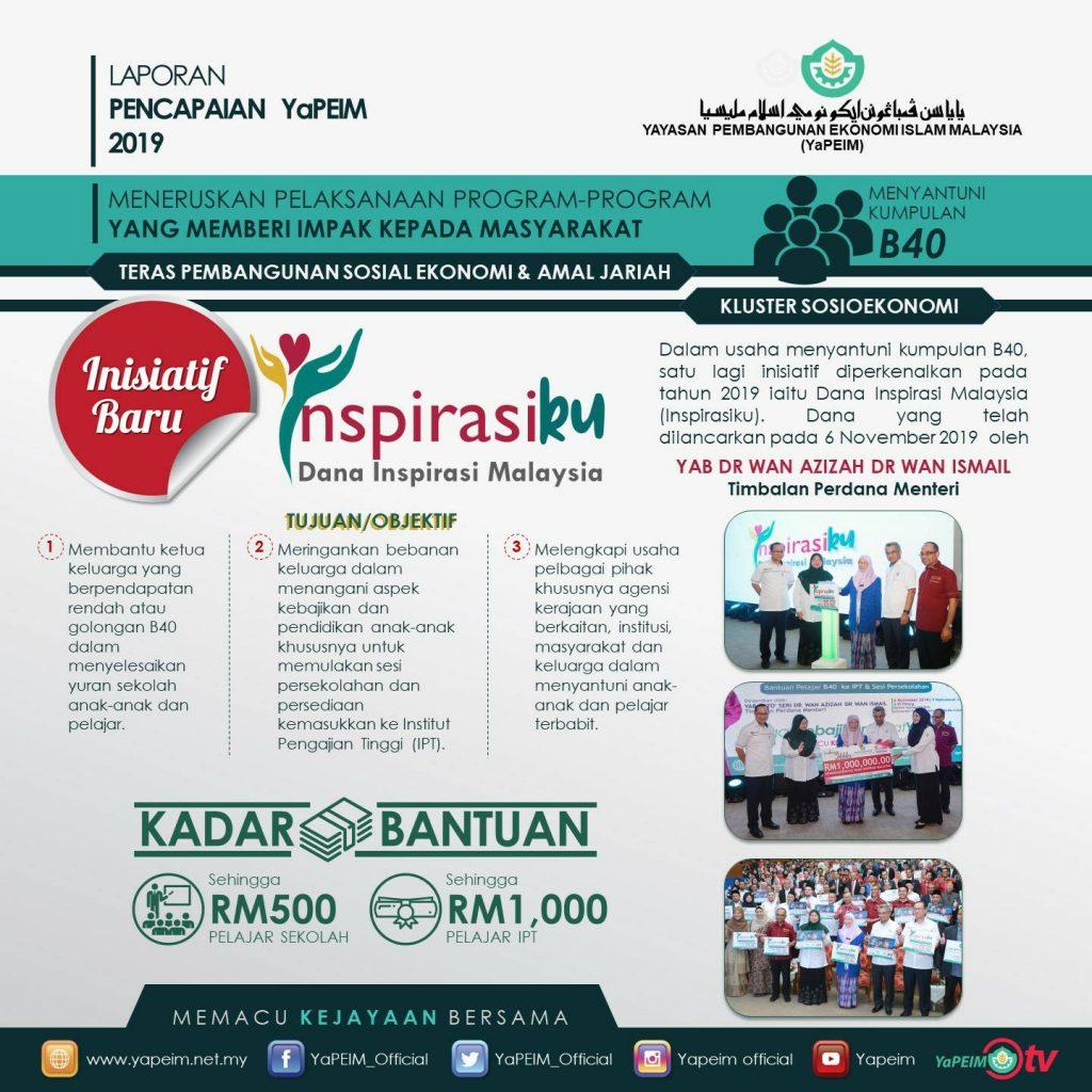 Semakan Bantuan Pendidikan Dana Inspirasi Malaysia Inspirasiku Untuk Keluarga B40 Daripada Yapeim Pendidikan4all