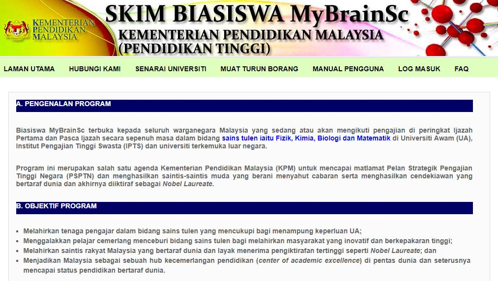 biasiswa mybrainsc