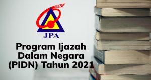 program ijazah dalam negara pidn 2021