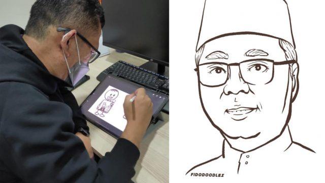 ilustrator perdana menteri